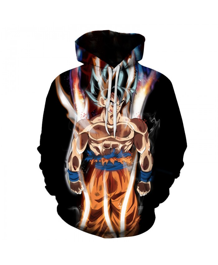 Harajuku 3D Print Dragon Ball Z Hoodies Men/Women Sweatshirts Hoody Cartoon Anime Dragon Ball Super Boy/Girls Polluver C
