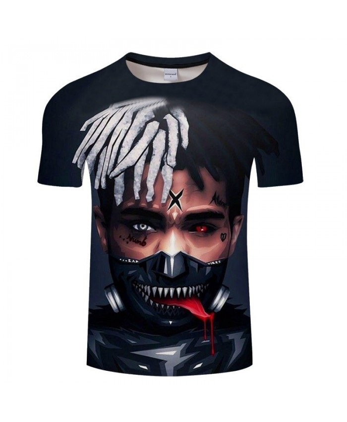 Hip Hop Boy Men t shirt Anime Print t-shirt Brand Sweatshirts Black Fashion Tops Casual Couple Streetwear Drop Ship