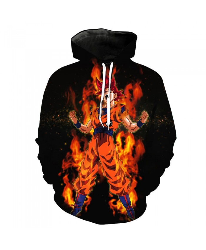 Hip Hop Dragon Ball Goku Pocket Pullover Hoody Men/Women Hip Hop Print 3D Sweatshirt Character Hoodie Tracksuits S-6XL