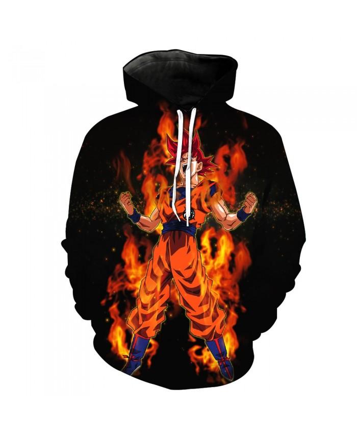 Hip Hop Dragon Ball Goku Pocket Pullover Hoody Men/Women Hip Hop Print 3D Sweatshirt Character Hoodie Tracksuits S-6XL