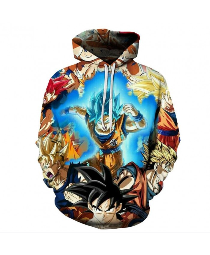 Hiphop Harajuku Hoodies hoodie dragon ball master jumper sweatshirt men's and women's brand clothing blouse Asian size s-6xl C