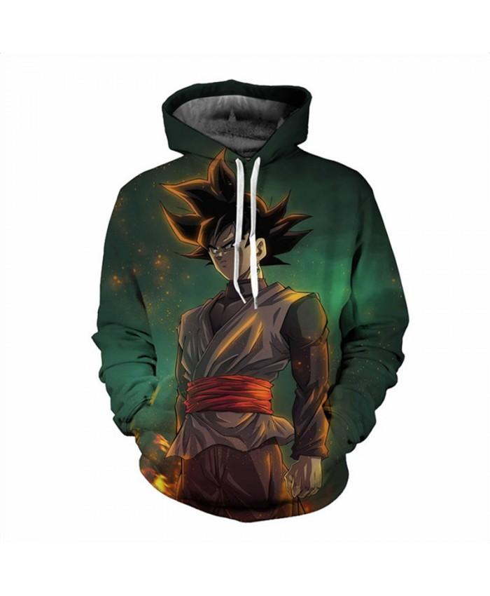 Hoodie Men Wukong Space Galaxy 3D printing Hip hop Sweatshirt fashion Mens hoodies 2019 brand Autumn Winter pullover