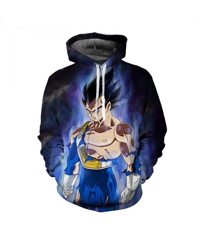 Hoodies 3d Print Animal Dragon ball Men's Hoody Sweatshirt Hip Hop Unisex Pullover With Big Pockets Tops