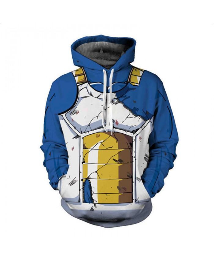 b5114bb00f24 Hot Anime Dragon Ball Z Hoodies Men 3D Sweatshirt Super Saiyan Vegeta  Vegetto Print Pullover Male