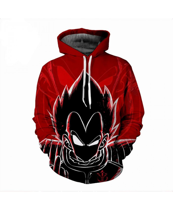 Hot Anime Hoodies Men Dragon Ball Kids Goku Gohan Sweatshirts 3D Hoodies Pullovers Cartoon Men's Coat Teen Autumn Outwear