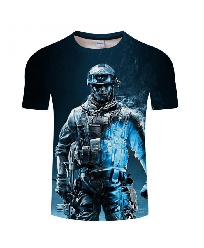 Hot Sell Warrior Anime print Men t-shirt Tee Anime tshirts Fashion t shirt Camiseta Casual Short Sleeve Drop Ship