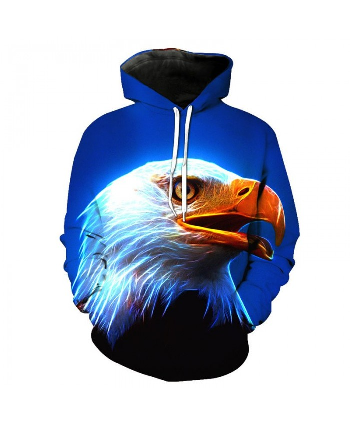 Hot Selling Fashion Eagle Hooded Sweatshirt Casual Hoodie Autumn Tracksuit Pullover Hooded Sweatshirt