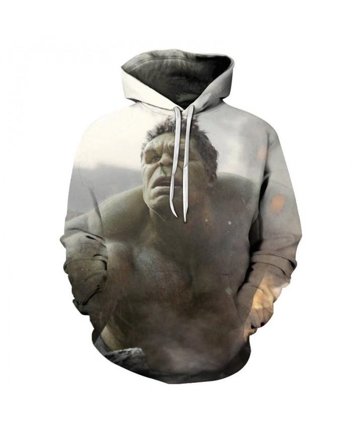 Hulk 3D Print Hoodie Mens Pullover Sweatshirt Men's The Avengers Sweatshirt Superhero Captain America Fashion Men Hoodies