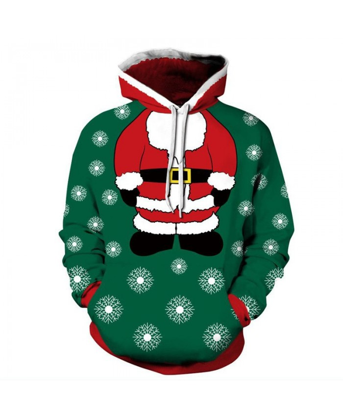 I am Santa Claus fun 3D hooded sweatshirt Christmas pullover sweatshirt 3D Pattern Print Hoodies Men Women Casual Sweatshirt