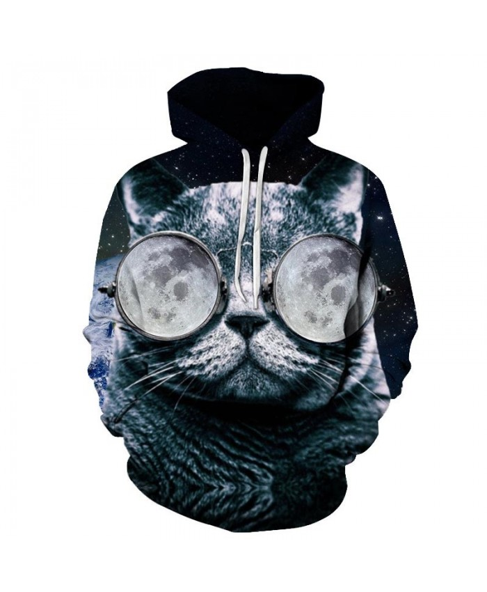 Ice World Cat 3D Printed Mens Pullover Sweatshirt Pullover Casual Hoodie Men Streetwear Sweatshirt Clothes Hoodie