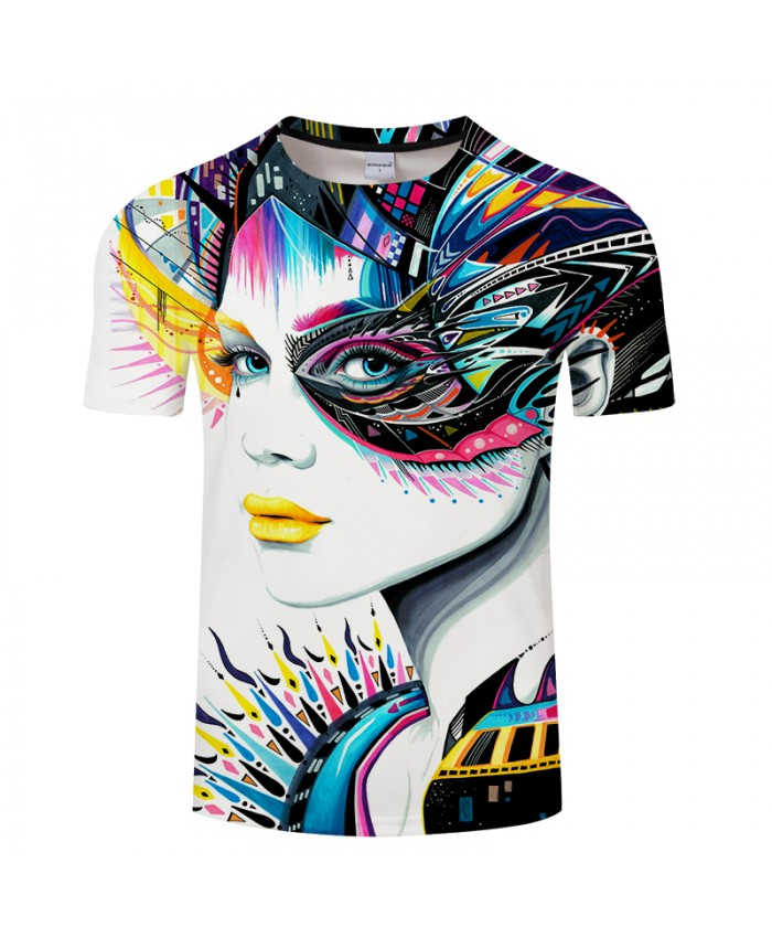In My Mind by Pixie cold Art 3D Men T Shirts Funny Indian Girl T-shirts Unisex Brand Tops Tees Summer Camiseta Casual