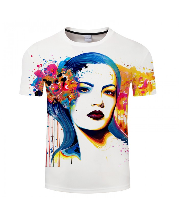 In her Eyes by Pixie cold Art Tshirts 3D Men T shirts Printed Funny Tshirts Short Sleeve Tops Male Camisetas Brand Tees