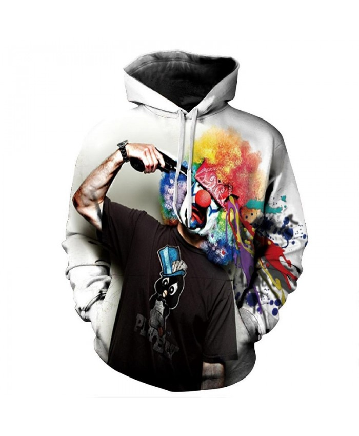 Joker Pritned 3D Hoodies Men Women Sweatshirts Funny Pullovers 6XL Plus Casual Tracksuits Quality Brand Male Jacket