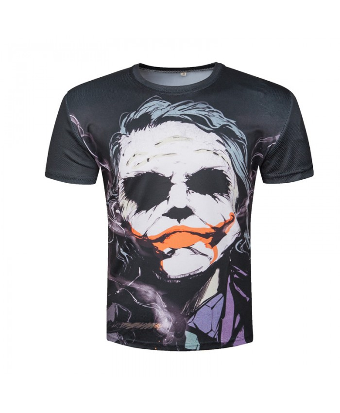 Joker T shirts Men 3D T-shirts Joker Character Movie Tops Short Sleeve Summer O-Neck Tees 2019 Harajuku Camisetas