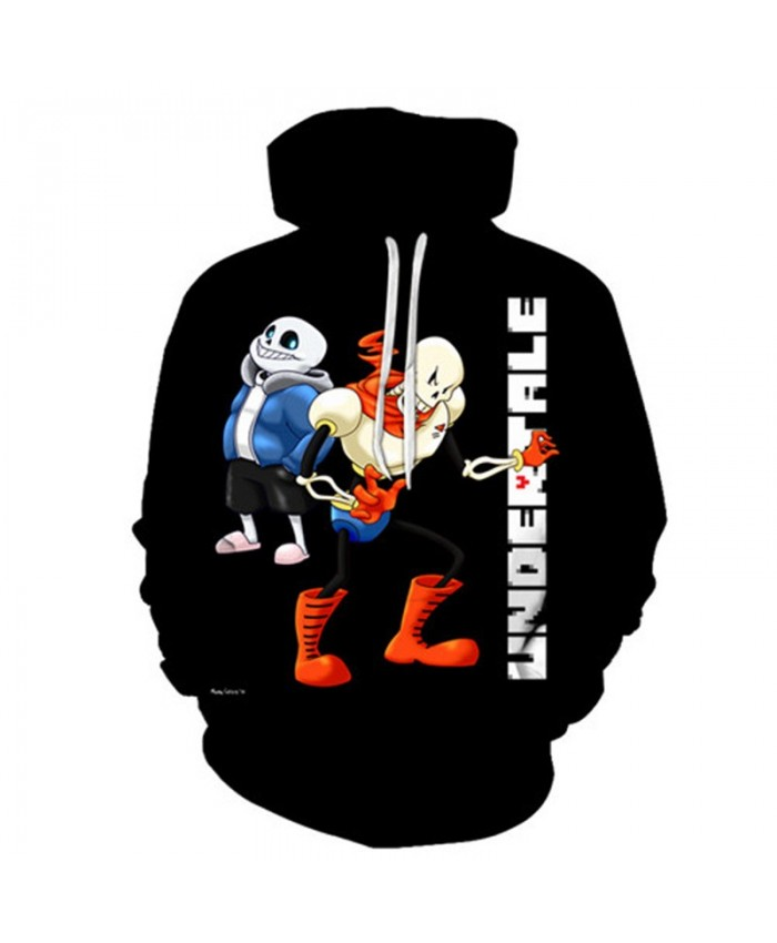 Kneeling Undertale 3D Print Mens Pullover Sweatshirt Fashion Casual Quality Men Hoodies Custom Pullover Hoodie Anime