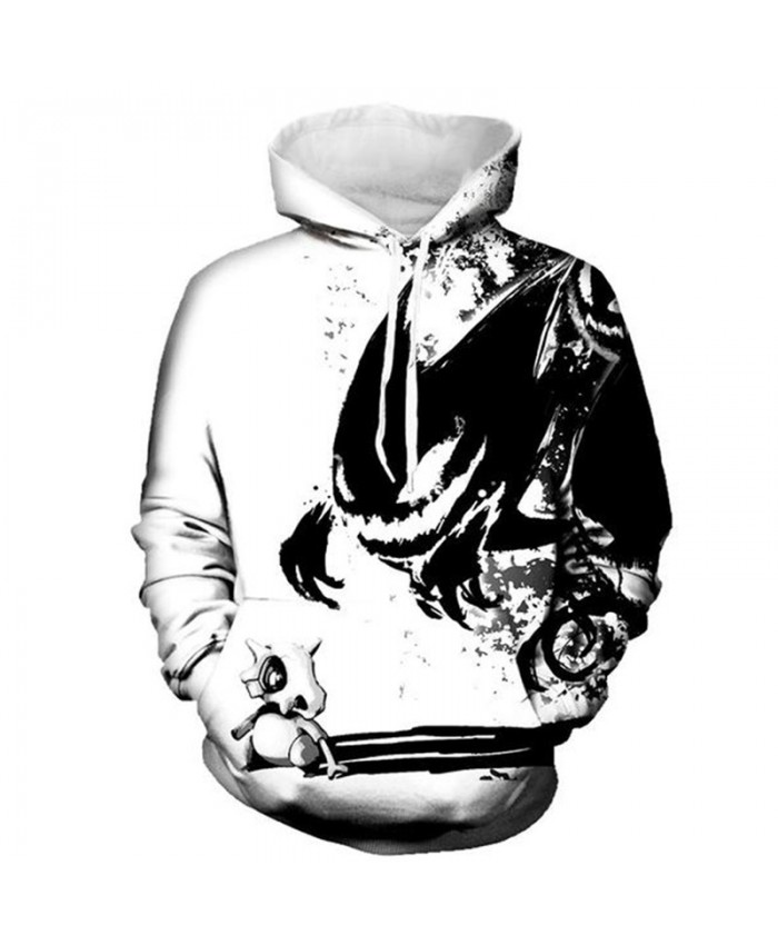 Latest Fashion Hooded Sweatshirt Bone Dinosaur Hell Messenger Printing Cool Pullover Men Women Sportwear