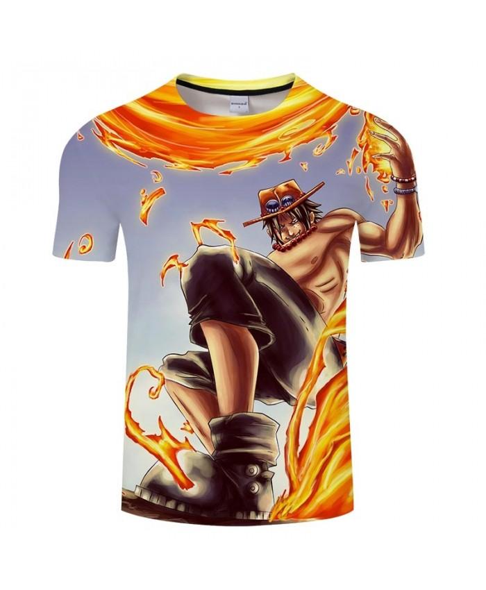 Launch Firepower One Piece 3D Print Men tshirt Crossfit Shirt Casual Summer Short Sleeve Male tshirt Men Tops&Tee