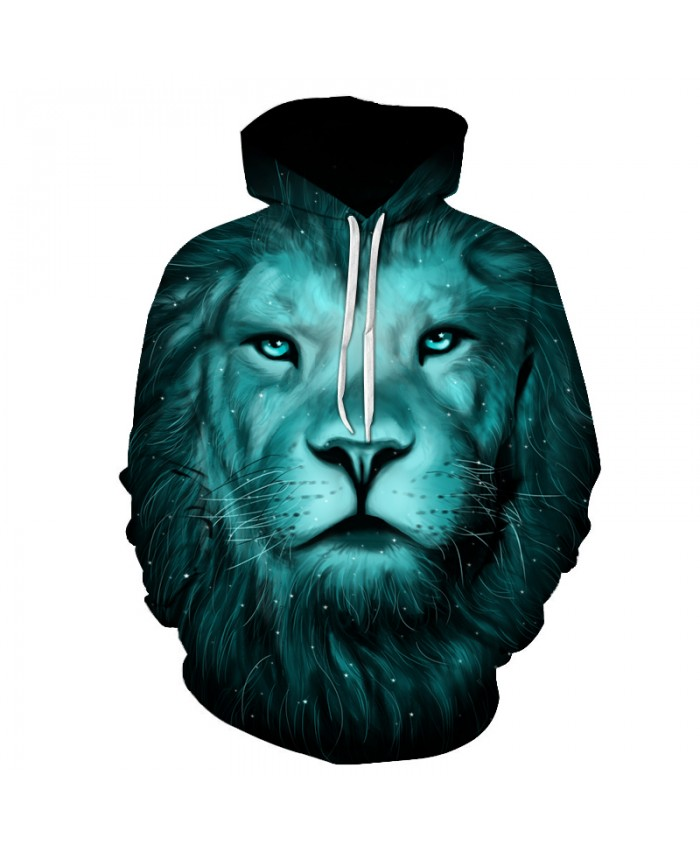 Lion King Printed Hoodies Men Women 3D Novelty Sweatshirts Fashion Pullover Novelty Hooded Streetwear Autumn Hoodies