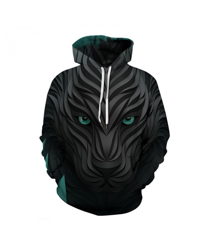 Lion Plus Size Hoodies 3d Wolf Print Sweatshirts Men Women Autumn Winter Casual Pullover Male Female Tracksuit Jacket