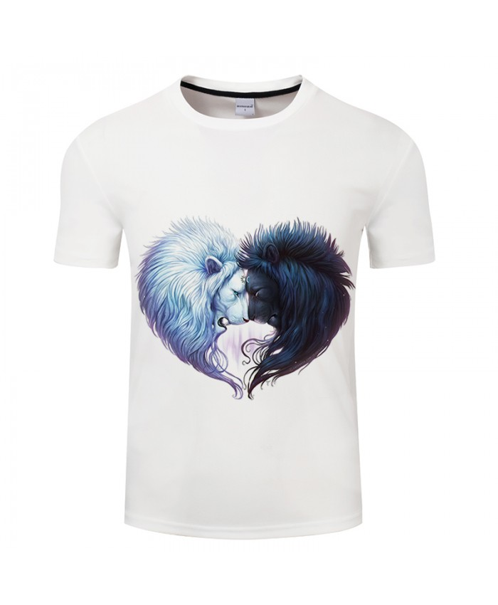 Lion Print T shirt Men Streetwear tshirt Women Funny Short Sleeve 3D t shirt Summer Brand Tops&Tees Drop Ship