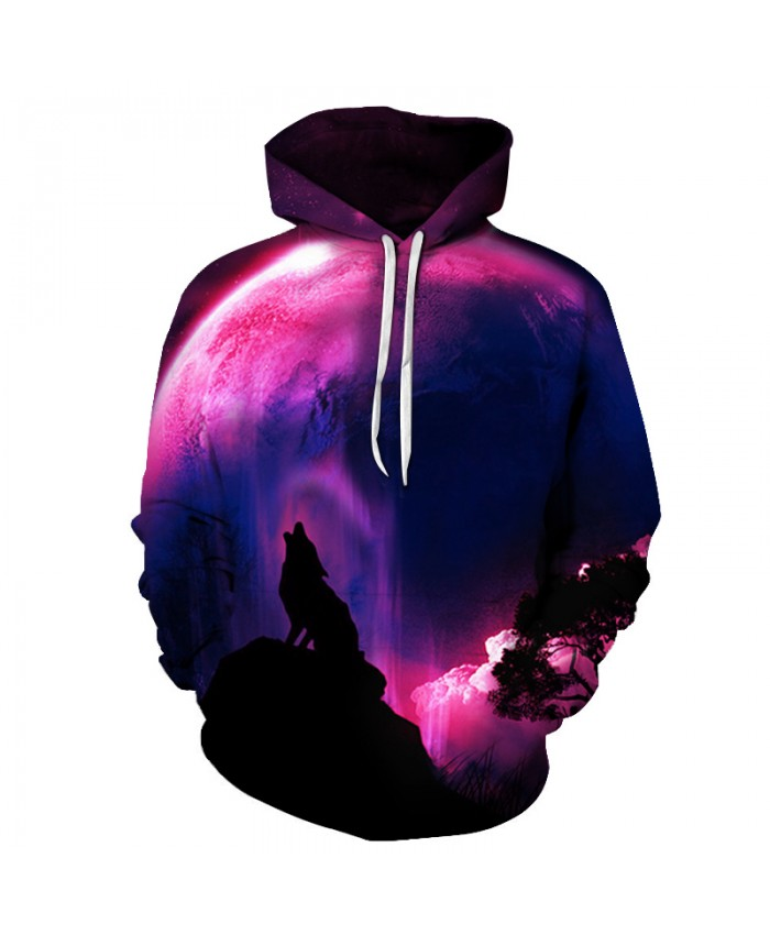Lone Wolf Printed 3D Hoodies Men Brand Hoodies Sweatshirts Autumn Pullover 6XL Fashion Quality Tracksuits Casual Boy Jacket Coat