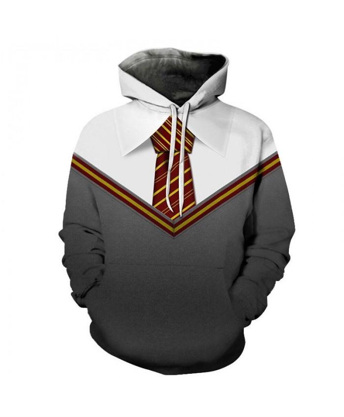 Long Tie 3D Print Men Pullover Sweatshirt Clothing for Men Casual Fashion Hoodies Fashion Men Streetwear Sweatshirt