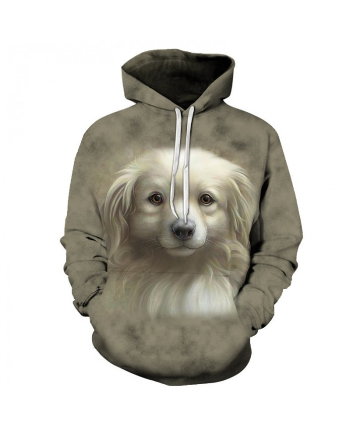 Lovely Dog Hoodies Sweatshirts Men Women Tracksuit 3d Printing Pullover Autumn Hoodie Streetwear Coat 2019 Drop Ship