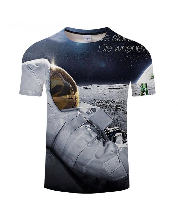 Lying Down Beer 3D Print Men tshirt Crossfit Shirt Casual Summer Short Sleeve Male tshirt Brand Men O-neck Tops&Tee