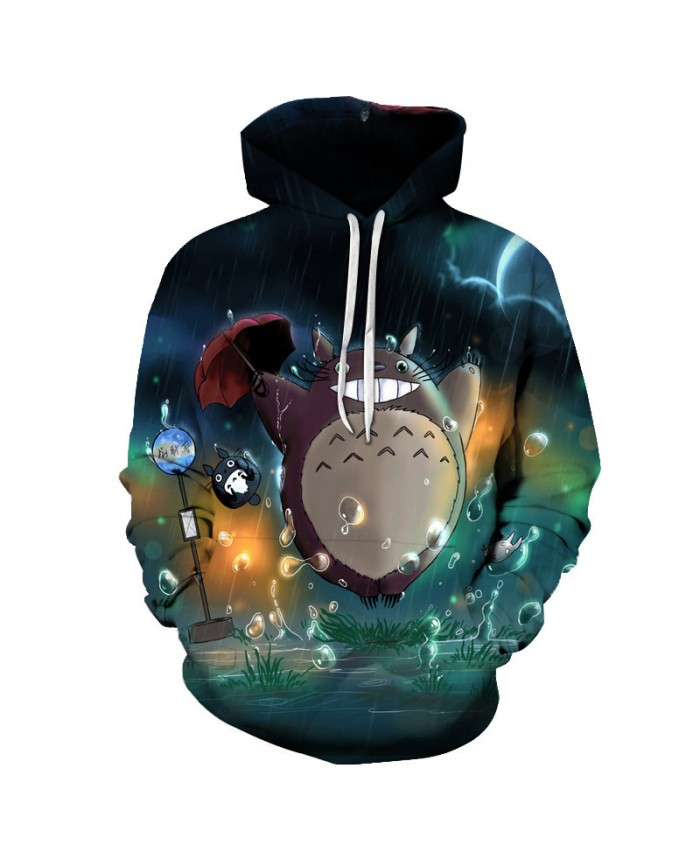 Male Fashion Tops Funny Print Hoodies Casual Sweatshirts Women Cartoon Pattern Tracksuits Drop Ship 3D Pullover