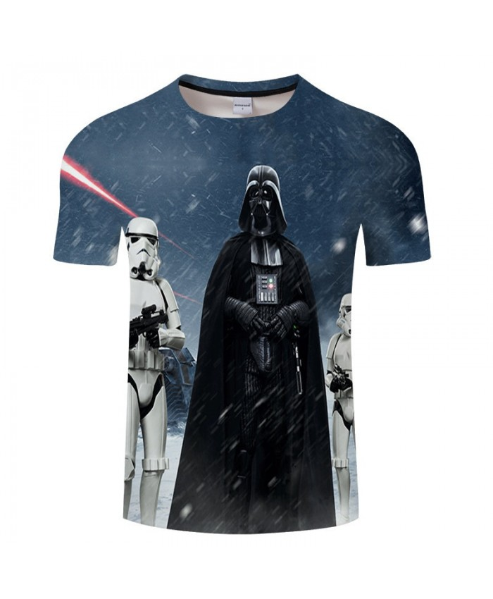 Man In Black Star Wars 3D Print T Shirt Men Women tshirt Summer Casual tshirt Short Sleeve O-neck Tops&Tee Drop Ship