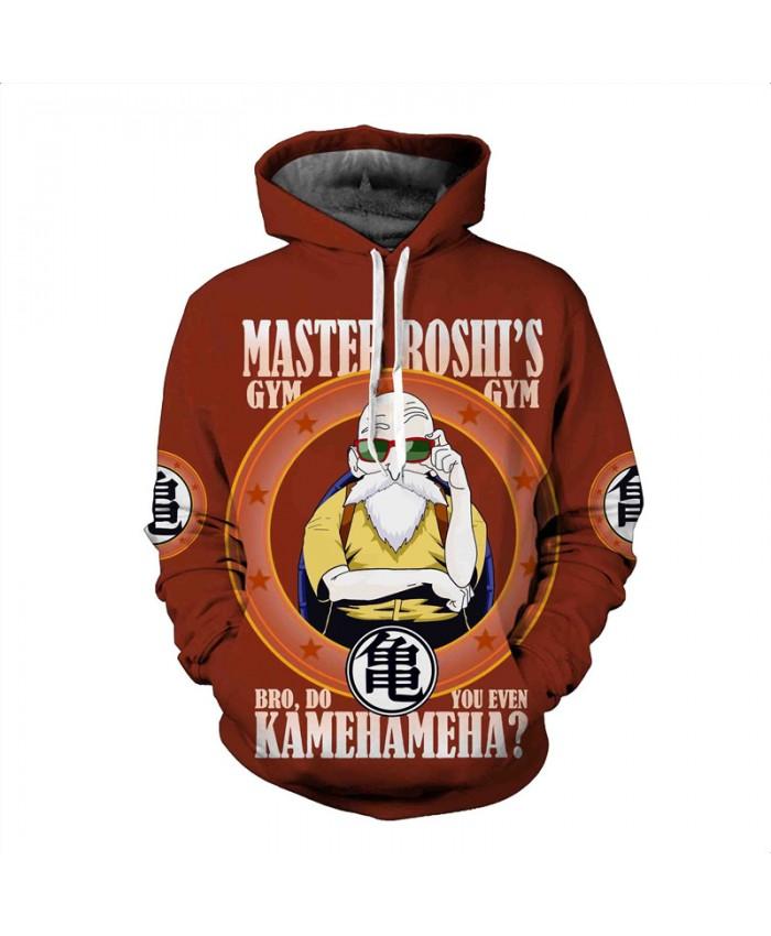 Men's Hooded Sweatshirt Dragon Ball Hoodie Sweatshirts 3D Anime Vegeta Hoodies Homens Sweat Homme Sudaderas B