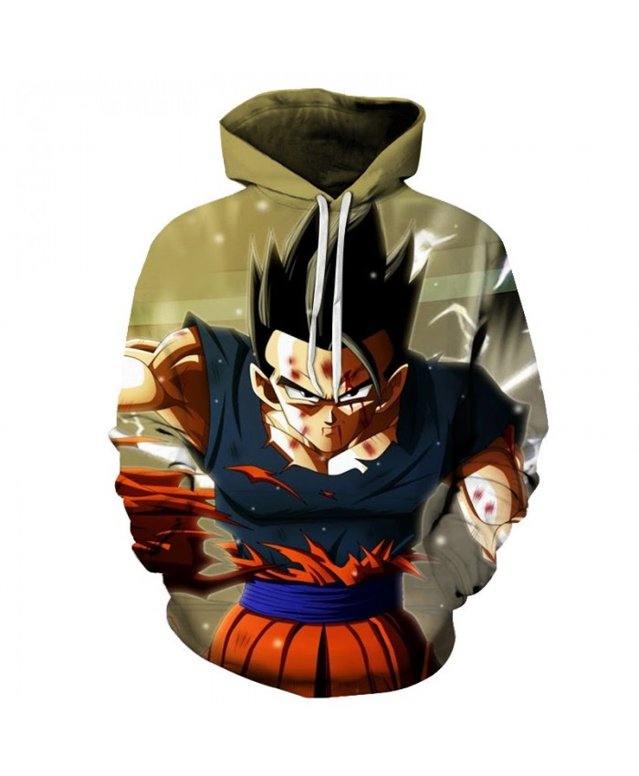 Men 3D Cloth Dragon Ball Super Acme Streetwear 3D Print Hoodie Sweatshirts Tracksuit Band Hoodies Goku Anime Pullover DropShip Z