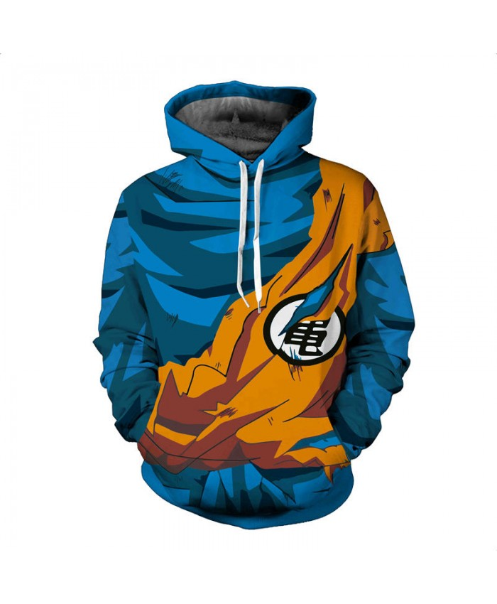 Men 3D Hoodies Dragon Ball Pocket Hooded Sweatshirts Hot 3D Animation Pullovers Tracksuits Teen Long Sleeve Outerwear