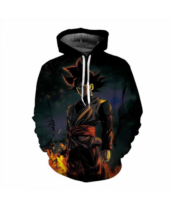 Men Hoodies Casual 3D Night wukong GOKU Printed Sweatshirt Men's Sweatshirts Winter Clothing Hip Hop Pullover Hoodie 5XL