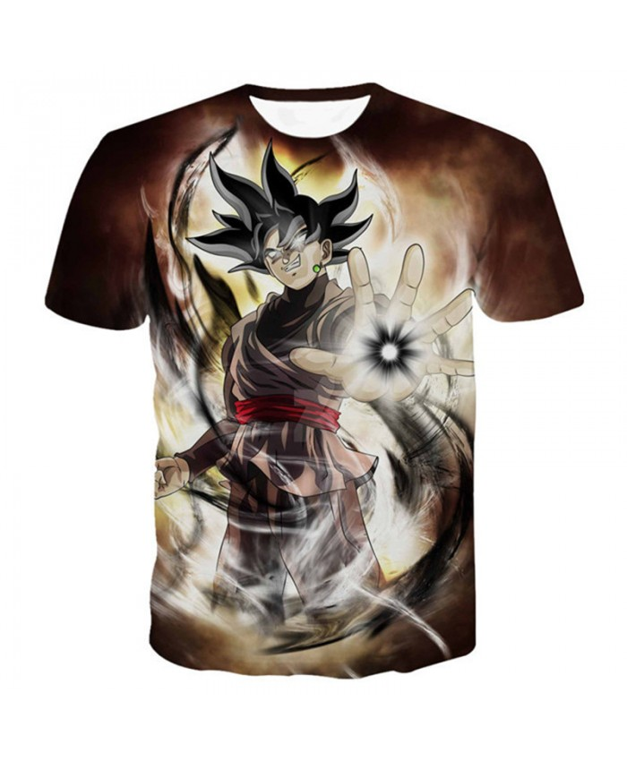 Men Summer Camiseta Dragon Ball T Shirt Son Goku Super Vegeta Shirt Cartoon Kids Top Tees Short Sleeve Mens T Shirts