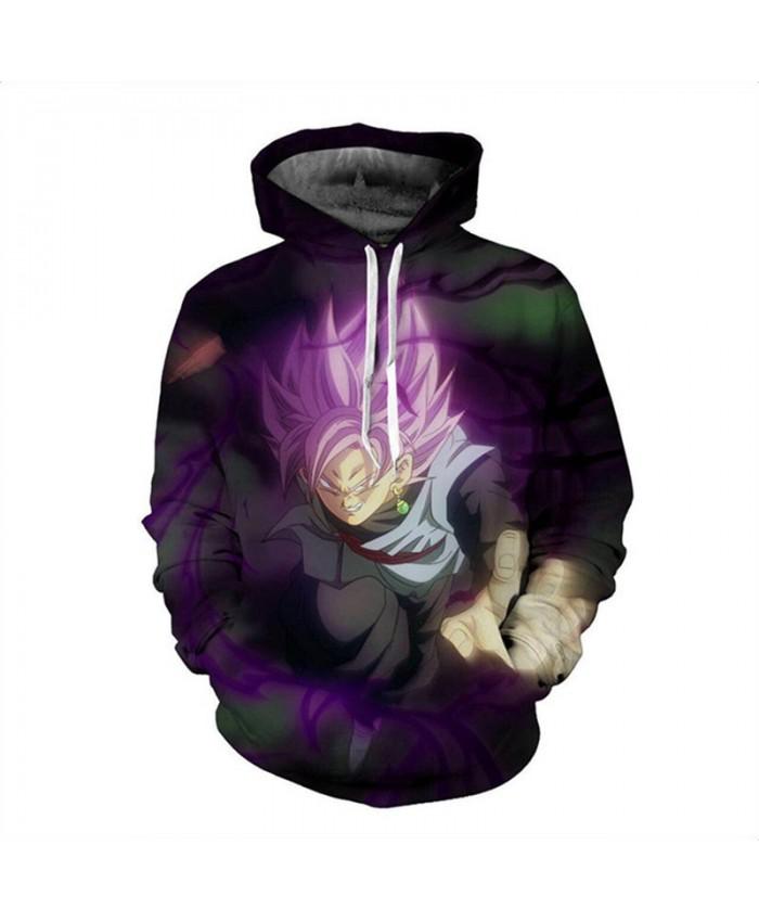 Men/Women GOKU Dragon ball lightning 3d Sweatshirts Tops Print Hood Hoodies Thin Autumn Sweatshirts For Man Beach Hoodies