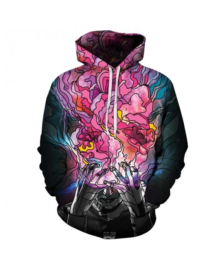 Men Women Hoodie-Sweatshirts Funny Printed Hooded Pullover Movie Printed 3D Fashion Autumn Winter Tracksuits Brand Hoodies