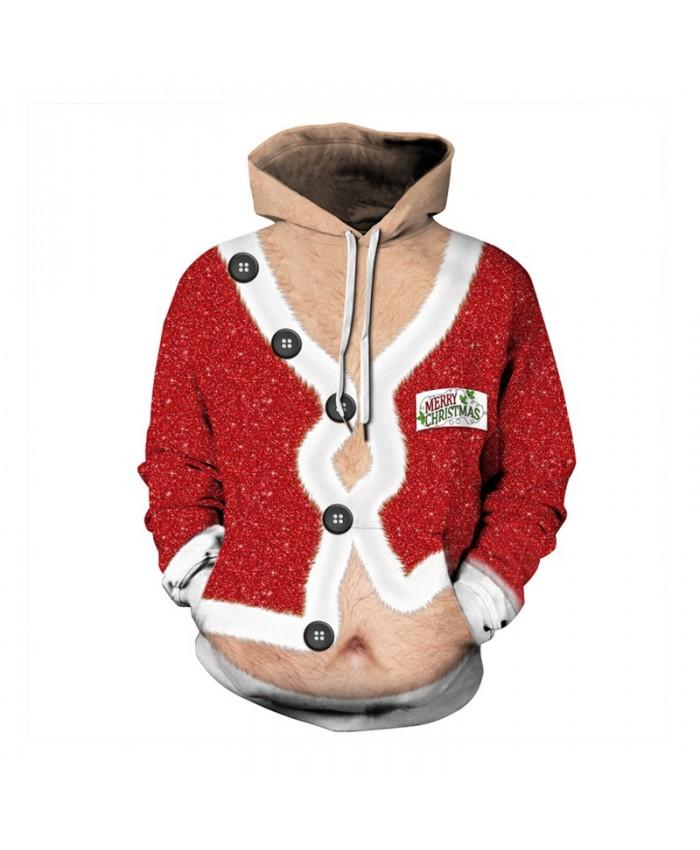 Mens 3D Print Gala Christmas Hoodie Winter Casual Pullover Hooded Long Sleeve Sweatshirt Clothing Ugly Christmas Tops
