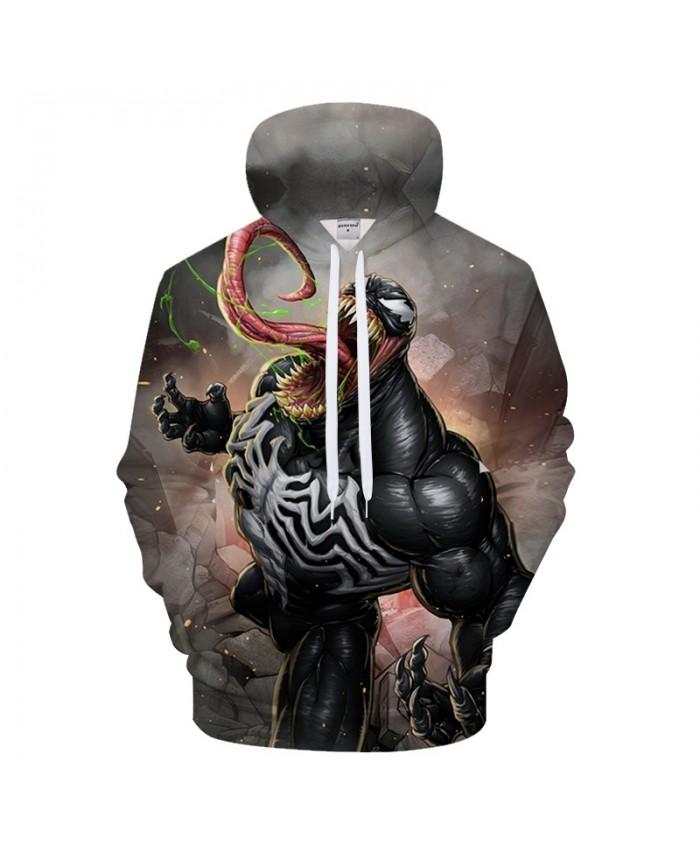 Monster 3D Hoodie Men Hoody Printed Tracksuit Groot Sweatshirt Dragon Ball Casual Coat Streatwear Pullover DropShip