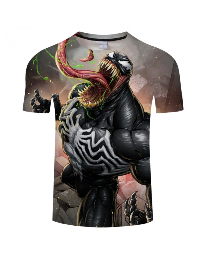 Monster 3D t shirt Men tshirt Summer T-Shirt Casual Tees Short Sleeve Tops Moletom Groot Camiseta Streatwear DropShip