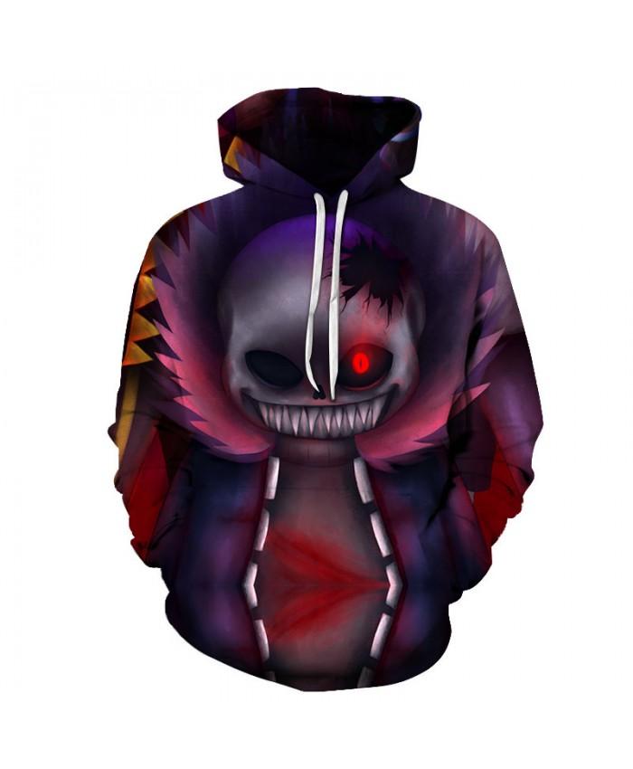 Monster Smile 3D Hoodies Men Hoody Harajuku Hoodie Streatwear Sweatshirt Tracksuit Pullover Coat Hip Hop Dropship