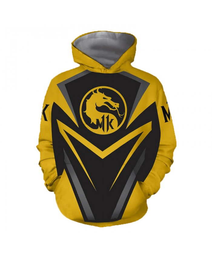 Mortal Kombat 11 3D Printed Hoodies Men Women Spring Casual Hooded Sweatshirts Unisex Plus Size Sweatshirts Outerwear