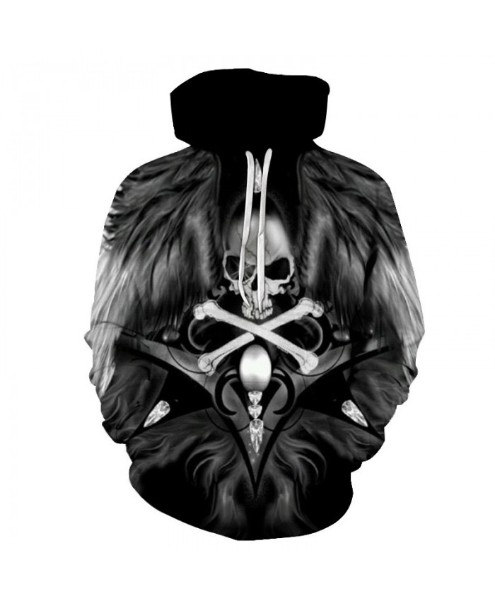 Motorcycle Art Skull Hoodies Men Women New Fashion Autumn Winter Sportswear Tracksuit Brand Hooded Sweatshirt Hoody Tops