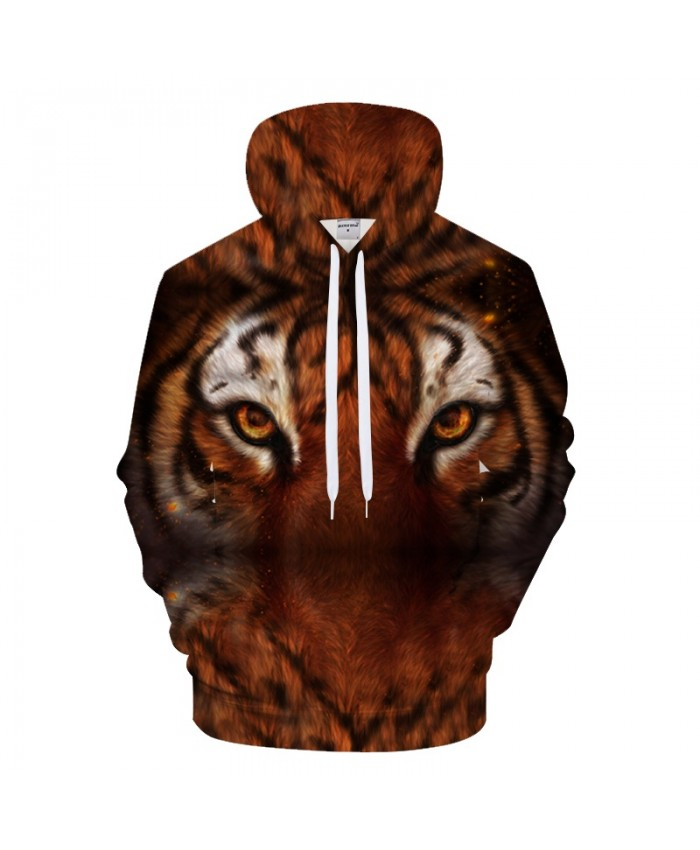 My home is destroyed By KhaliaArt Tiger 3D Print Hoodies Men Casual Sweatshirt Tracksuits Pullover Coat Fashion Cloth Drop Ship