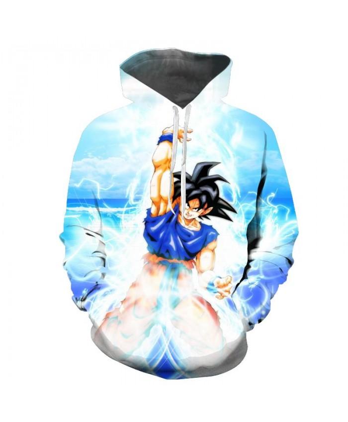 NEW Seven dragon ball wukong anime hooded 3D Pocket Hooded Sweatshirts 3D Hoodies Pullovers Men Women Long Sleeve