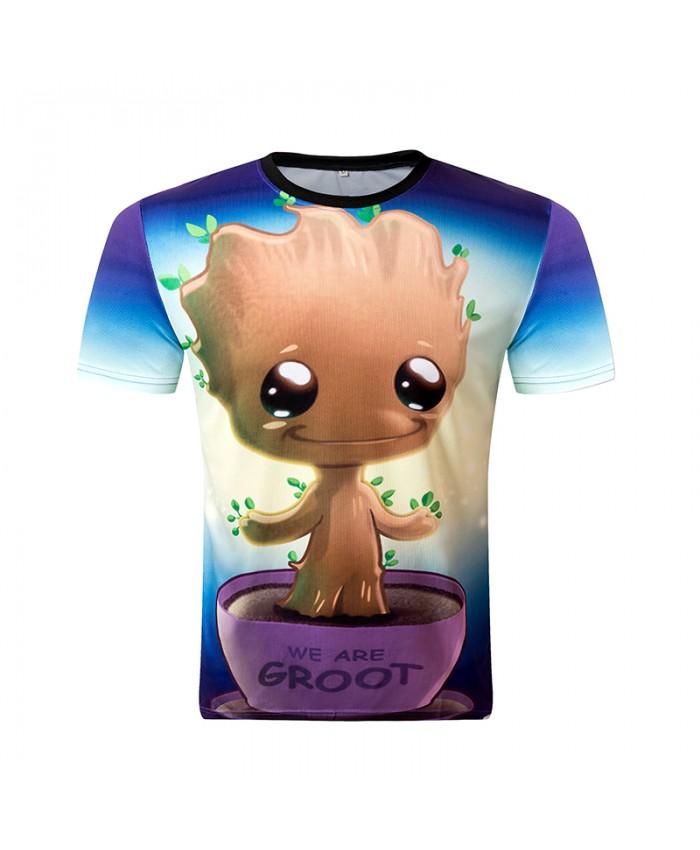 New 2018 Men T Shirt 3D Print Fashion Tops Sunmmer O-Neck Brand Design High Quality Plus-Size Trend Harajuku Tees