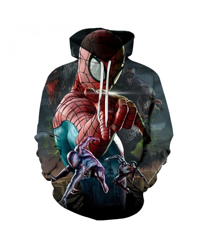 New 2021 Marvel Comics 3D Printed Iron Spiderman Sweatshirt Men/Women Tops Hoodie Men Fashion Autumn Hoodies Streetwear Clothes