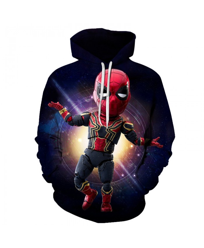New 2019 Marvel Comics 3D Printed Iron Spiderman Sweatshirt Men/Women Tops Hoodie Men Fashion Autumn Hoodies Streetwear Clothes B