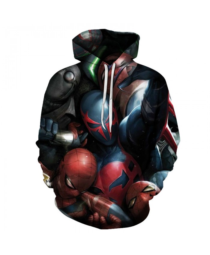 New 2021 Marvel Comics 3D Printed Iron Spiderman Sweatshirt Men/Women Tops Hoodie Men Fashion Autumn Hoodies Streetwear Clothes D