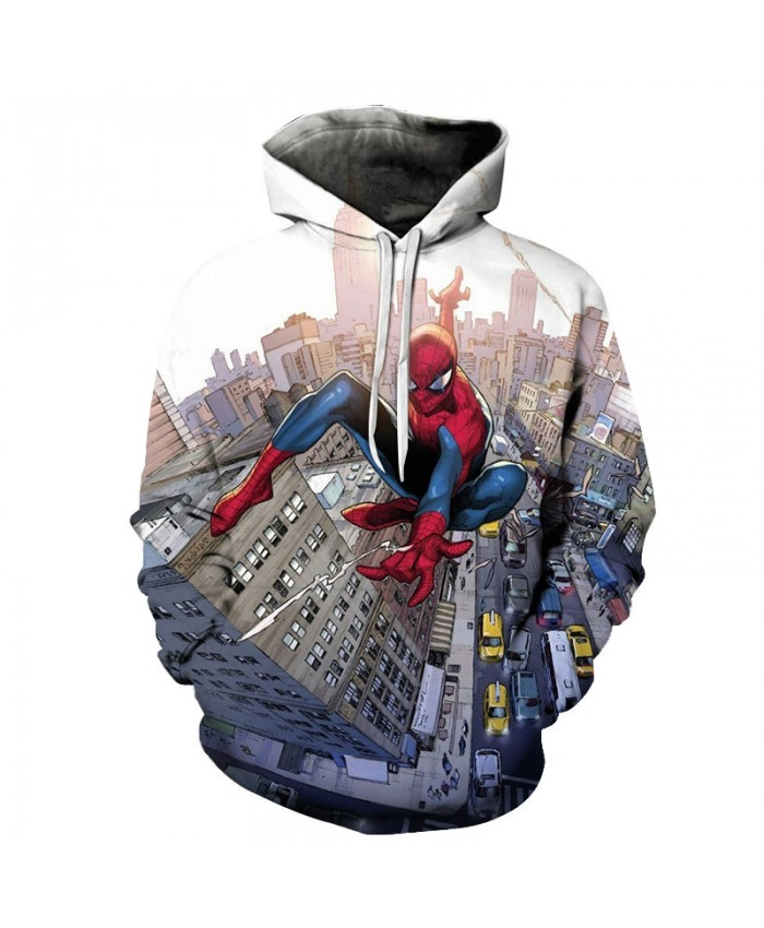 New 2019 Marvel Comics 3D Printed Iron Spiderman Sweatshirt Men/Women Tops Hoodie Men Fashion Autumn Hoodies Streetwear Clothes E